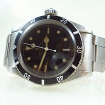 Rolex Submariner (No Date) Сталь 38mm Чёрный Без цифр