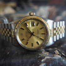 Rolex 16013 Gold/Steel 1981 Datejust 36mm pre-owned United Kingdom, Whitby- North Yorkshire