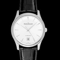 Jaeger-LeCoultre Steel Automatic Silver 39mm new Master Ultra Thin Date