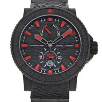 Ulysse Nardin Diver Black Sea new Automatic Watch with original box and original papers 263-92-3C