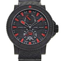 Ulysse Nardin Automatic Black 45.8mm new Diver Black Sea