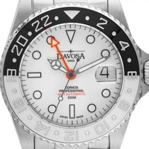 Davosa new Automatic Luminescent Hands Limited Edition Luminous indexes 42mm Steel Sapphire Glass