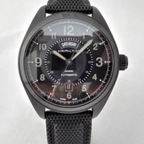Hamilton pre-owned Automatic 42mm Black Sapphire Glass 5 ATM