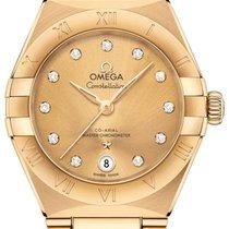 Omega Constellation Gelbgold 29mm Gelb