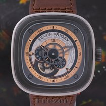 Sevenfriday pre-owned Automatic 47.6mm Mineral Glass