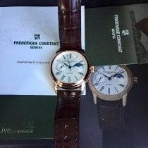 Frederique Constant Manufacture Classic Moonphase 42mm Argent France, nice
