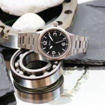 Sinn 656 / 657 Acier 38.5mm Noir Arabes