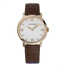 Chopard Rose gold Manual winding White Roman numerals 34mm new Classic