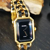 Chanel Yellow gold Quartz Black No numerals pre-owned Première
