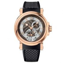 Breguet new Automatic Skeletonized Display Back 42mm Rose gold Sapphire crystal