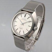 Seiko King Steel 37mm Silver No numerals