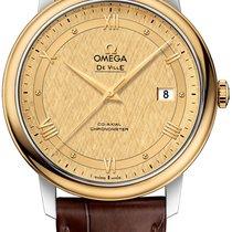Omega De Ville Prestige новые Автоподзавод Часы с оригинальной коробкой