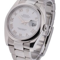 Rolex Used 116200 Mens Steel New Style Datejust - Domed Bezel...