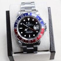 Rolex Gmt Master 16700 Pepsi Blue & Red Bezel  Steel Mint
