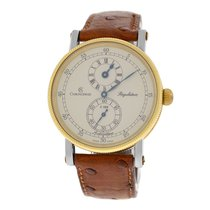Chronoswiss Men's  Regulateur CH 1222 18K Gold Steel 38MM
