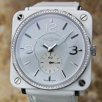 Bell & Ross Ceramic Diamond Swiss Made 39mm Lady Quartz...
