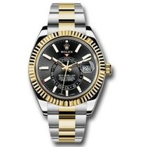 Rolex Sky-Dweller Gold/Steel 42mm Black United States of America, Pennsylvania, Holland