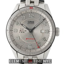 Oris Audi Sport Steel 44mm Silver Arabic numerals United States of America, New York, New York