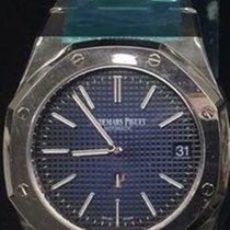 Audemars Piguet Titanium Automatic Blue No numerals 39mm new Royal Oak Jumbo