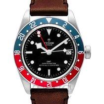 Tudor Black Bay GMT Black Steel/Leather - 79830RB
