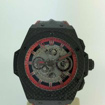 Hublot King Power Carbon 48mm Fara cifre