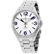 Hamilton Khaki Aviation Silver Dial Stainless Steel Men's...