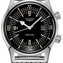 Longines Legend Diver Steel 42mm Black United States of America, New York, Airmont