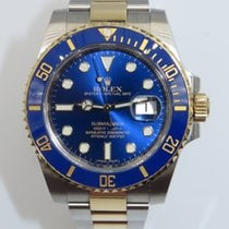 Rolex Submariner Date pre-owned 40mm Gold/Steel