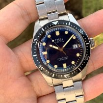 Oris Divers Sixty Five Steel 42mm Blue No numerals