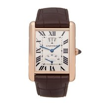Cartier Tank Louis Cartier Rose gold 30mm Silver Roman numerals