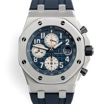 Audemars Piguet Royal Oak Offshore Chronograph Stål 42mm Blå