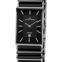 Jacques Lemans High Tech Ceramic York Steel 28mm Black