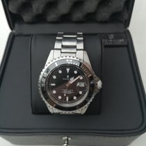 Steinhart Ocean 1 Gold/Steel 42mm Black No numerals