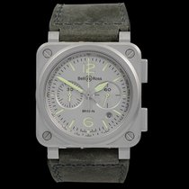 Bell & Ross BR 03-94 Chronographe 42mm Grey United States of America, California, San Mateo