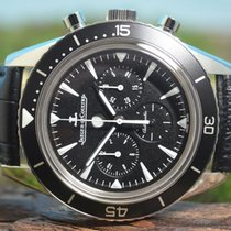Jaeger-LeCoultre Deep Sea Chronograph Otel 44mm Negru