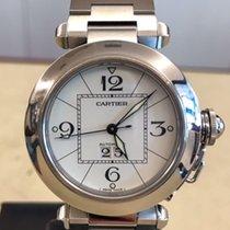 Cartier Pasha C Steel 35mm White Arabic numerals