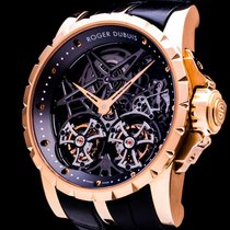 Roger Dubuis Rose gold 45mm Manual winding DBEX0283 pre-owned