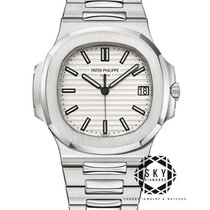 Patek Philippe Nautilus Steel 40mm White No numerals