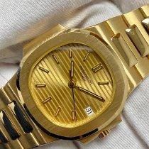Patek Philippe 3800/001 Yellow gold 1985 Nautilus 37mm new