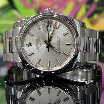 Rolex Oyster Perpetual Date Acier 34mm Gris Sans chiffres France, Paris
