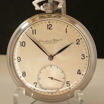 IWC Uhr gebraucht 1943 Stahl 49mm Arabisch Handaufzug Nur Uhr