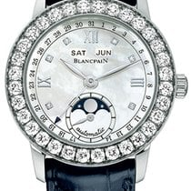 Blancpain Léman Moonphase new Automatic Watch with original box and original papers