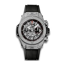 Hublot Big Bang Unico 45mm Automatic Titanium Mens Watch...