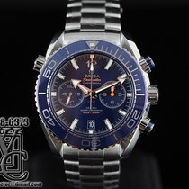 Omega Seamaster Planet Ocean Chronograph 46mm Blue   Dial