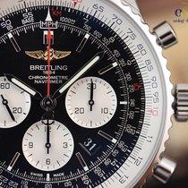 Breitling Navitimer 01 46mm Stainless Steel / Black / Calf/...