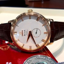 Omega De Ville Prestige Co-Axial Rose Gold Roman Dial 39 mm