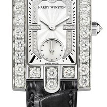 Harry Winston Avenue Classic White Gold Watch
