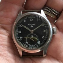 Eterna  WWW  British army Promethium dial
