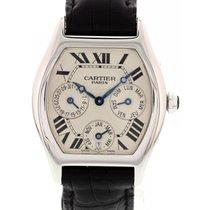 Cartier Tortue Perpetual Calendar 18K White Gold 2540