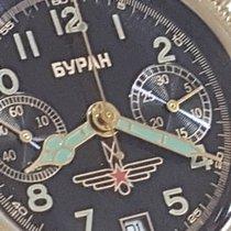 OROLOGIO POLJOT BURAN CRONOGRAFO CAL 3133 ORIGINALE RUSSO VI 1990 pre-owned